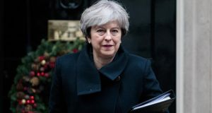 UK prime minister Theresa May. Photograph: Jack Taylor/Getty Images