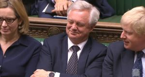 "Britain's Brexit secretary David Davis aspires to a ""Canada-plus-plus-plus"" deal. Photograph: PA Wire"