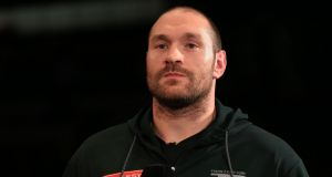 Tyson Fury's much-delayed UK Anti-Doping (UKAD) hearing has resumed in London on Monday, although a verdict is not expected until the new year. Photo: Adam Davy/PA Wire