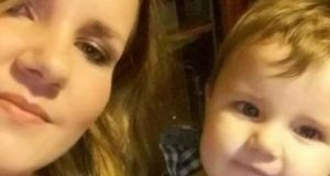 Anna Rozycka and 11-month-old Karol Rozycki:  he was found dead at the Polish couple's apartment in Killarney on Mother's Day 2016