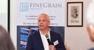 Former Jurys Inn/Amaris executive Cormac Ó Tighearnaigh is CEO of Fine Grain, which is seeking to raise up to €75 million in equity