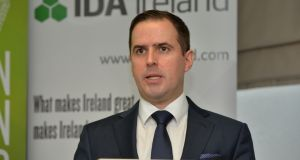 "IDA Ireland chief executive Martin Shanahan; he  said Pluralsight was experiencing ""impressive growth"". Photograph: Alan Betson"