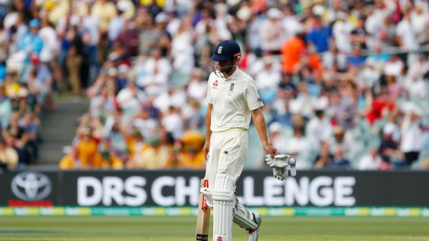 Alastair Cook has endured a difficult start to the Ashes tour. Photograph: Jason O'Brien/PA