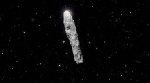 Could this cigar-shaped asteroid be an alien starship?