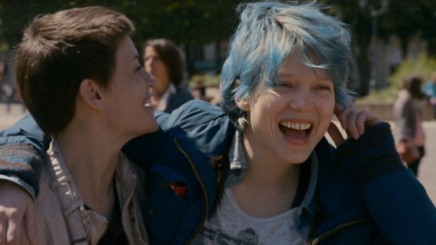 Blue is the Warmest Colour (2013): Léa Seydou and Adèle Exarchopoulos deliver an emotionally raw performance as two very different French women falling in and out of love. Famously explicit sex scenes.