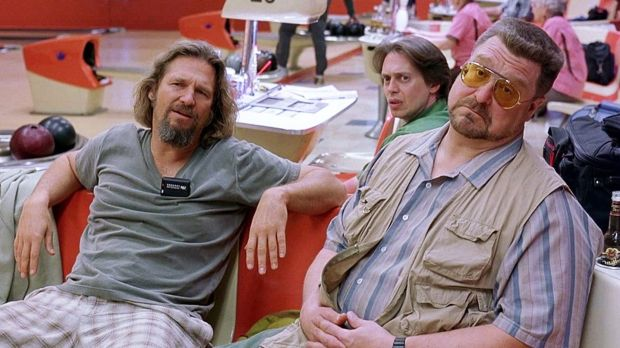 The Big Lebowski (1998): a Coen brothers film featuring Jeff Bridges as a middle-aged bum.