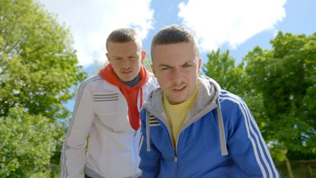 The Young Offenders (2016): Cork teenagers Conor (Alex Murphy) and Jock (Chris Walley) venture westwards, for 160km, on stolen bicycles, in search of a missing bale of cocaine. A domestic box-office smash.
