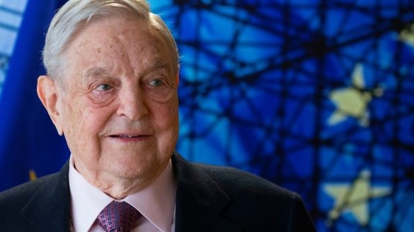 George Soros: Amnesty said the Soros grant accounts for nearly 2.5% of its total annual income, but returning it would set 'a dangerous precedent'. Photograph: AFP/Getty