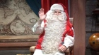 Santa sends his Christmas wishes to children around the world