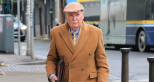 Irish Nationwide;s former chief Michael Fingleton arrives to give evidence to the Central Bank inquiry on its collapse.Photograph Nick Bradshaw