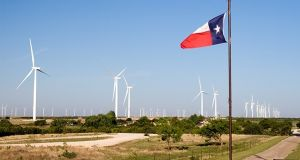 Most of the wind and solar energy powering Georgetown in Texas is travelling halfway across a state on a par with France in terms of physical size.