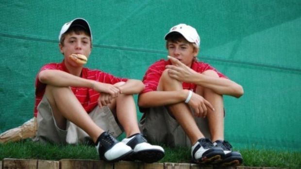 Spieth and Thomas, promising juniors at the time and who have since grown into Major champions.
