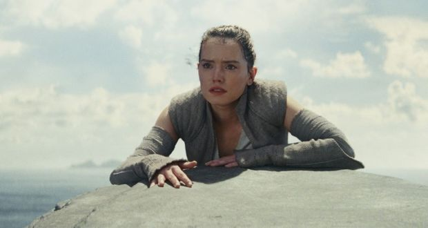 Daisy Ridley in Star Wars: The Last Jedi. Photograph: LucasFilm
