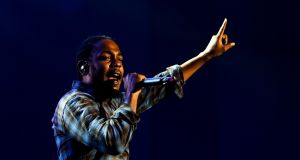 Kendrick Lamar came out on top in three categories: Best Album for Damn and Best Track and Best Video for Humble. Photograph: José Sena Goulão/EPA