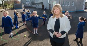 Louise Tobin, the principal of St Joseph's Primary School in Tipperary town. Photograph: John D Kelly