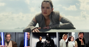 Star Wars: The Last Jedi ranks down the list in the Star Wars roll call. Photographs: LucasFilm