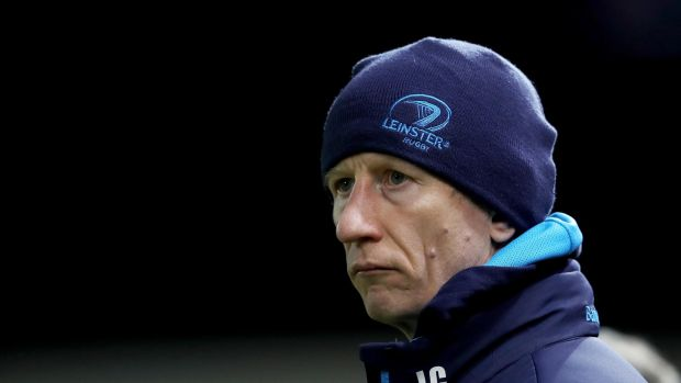 Leo Cullen: current coach was still a Leinster player when Northampton turned the tables on Leinster after suffering a crushing home defeat.. Photograph: Tommy Dickson/Inpho