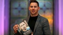 Philly McMahon at Smock Alley Theatre in  Dublin on Tuesday after 'The Choice', written with Niall Kelly,  was named  Eir  Sports Book of the Year. Photograph: Dan Sheridan/Inpho