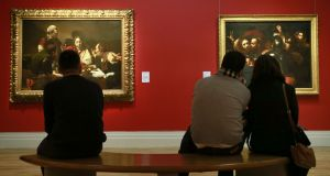 It's a winner: Beyond Caravaggio  at the National Gallery of Ireland. Photograph Nick Bradshaw
