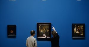An exhibition of stunning quality: Vermeer at The National Gallery of Ireland. Photograph: Alan Betson / The Irish Times