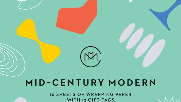 The Mid-Century Modern: Giftwrapping Paper Book, Thames & Hudson
