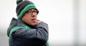 Kieran Keane: will want   to see an incremental improvement in Connacht's playing stats as their European adventure gathers momentum. Photograph: Oisín Keniry/Inpho