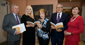 Minister of State for Higher Education Mary Mitchell O'Connor (second left) says some third-level students may be more suited to alternatives study paths. Also pictured at the launch of Education Matters, Ireland's yearbook of education, edited by Irish Times careers analyst Brian Mooney, were Prof Maurice Manning, chancellor NUI; Phyllis Mitchell (centre), publisher; Mr Mooney,  and Dr Attracta Halpin, NUI registrar.