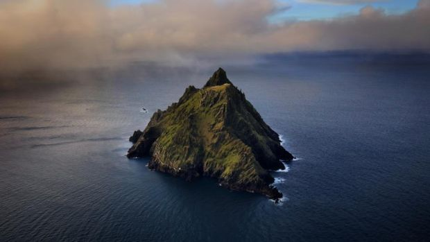 "Skellig Michael: ""It seems so dignified and wise,"" we say the first time it appears on The Graham Norton Show to discuss Star Wars. Photograph: Valerie O'Sullivan/Fáilte Ireland"