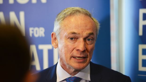 Minister for Education Richard Bruton: announced plans earlier this year to allow for Government-appointed inspectors to investigate issues of concern. Photograph: Alan Betson