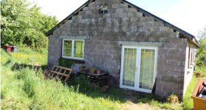 Partially built house on half an acre at Hornhill, Lissarda, Macroom, Co Cork