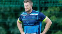 "Jamie Heaslip says a return in  the new year would be ""nice"". Photograph: Gary Carr/Inpho"