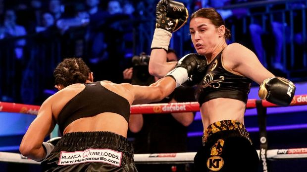 Katie Taylor beats Jessica McCaskill to defend WBA world lightweight title