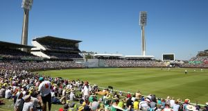 The WACA during the opening day of the third Ashes Test in Perth. Photograph: Paul Kane/Getty