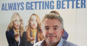"Michael O'Leary: ""We deeply regret any doubt we caused existing customers about Ryanair's reliability, or the risk of further cancellations."" Photograph: Niall Carson/PA"