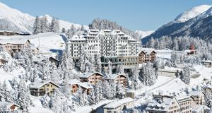 The Carlton Hotel St Moritz in Switzerland: design your very own bespoke outdoor adventure from ice-skating to champagne picnics in the snow