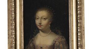 One of a set of four oil-on-copper paintings by an unknown artist, that sold for €22,000 – more than 14 times the top estimate (€1,000-€1,500) at Adam's on Tuesday