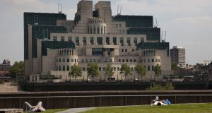 SIS Building:  the postmodern design headquarters of the British Secret Intelligence Service. Photograph: In Pictures Ltd./Corbis via Getty
