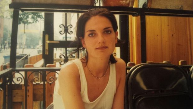 Carmel McMahon at Cafe Mogador in the East Village in 1995: 'I fell in with a Brooklyn art collective who embraced me as I was: undernourished, uneducated, young, curious, and up for just about anything.'