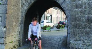 St John's Castle, Kilmallock, Co Limerick: start and end point of a fine and easygoing cycle