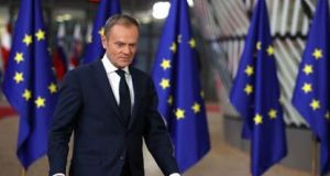 Donald Tusk: he has attempted to synopsise real differences among leaders so that debates can focus on how to bridge such differences. Photograph: Getty Images