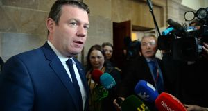 "Labour TD Alan Kelly: claims he was warned to ""watch his communications"" because of his contacts with individuals in relation to the Garda. Photograph:   Eric Luke"