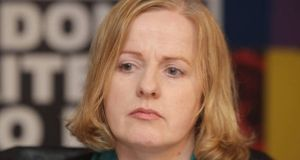 Ruth Coppinger: she cited the success of the anti-water charges campaign, and said it had been organised totally through social media. Photograph: Getty Images