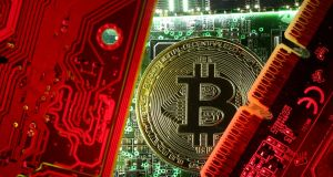 US prosecutors say they have charged a Long Island, New York woman with laundering more than $85,000 in fraudulently obtained money through Bitcoin to help Islamic State. Photograph:  Dado Ruvic/Reuters.