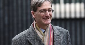 British Conservative MP Dominic Grieve has received death threats after leading a parliamentary rebellion that resulted in a parliamentary defeat for Theresa May on Brexit. Photograph: Simon Dawson/Reuters.