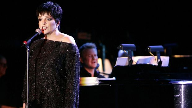 Liza Minnelli performs at Mar-a-Lago on January 20th, 2007. Photograph: John Parra/WireImage
