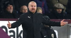 Sean Dyche: the Burnley manager believes in structure and work, values and intelligence and has led his club to lofty heights. Photograph: Clive Brunskill/Getty Images