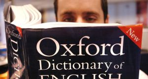 'Youthquake' has been named as Oxford Dictionaries' word of the year. File photograph: Ian Nicholson/PA Wire