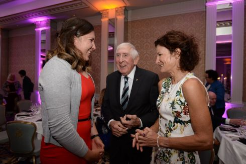 Olympic medalists Annalise Murphy, Ronnie Delaney and Sonia O'Sullivan at the The Irish Times Sport Ireland Sportswoman of the Year Awards in Dublin.