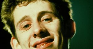 Shane MacGowan from The Pogues  in London in 1982. Photograph: Clare Muller/Redferns