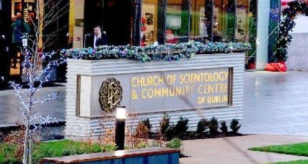 Scientology: the church's community centre in Firhouse in Dublin. Photograph: Cyril Byrne